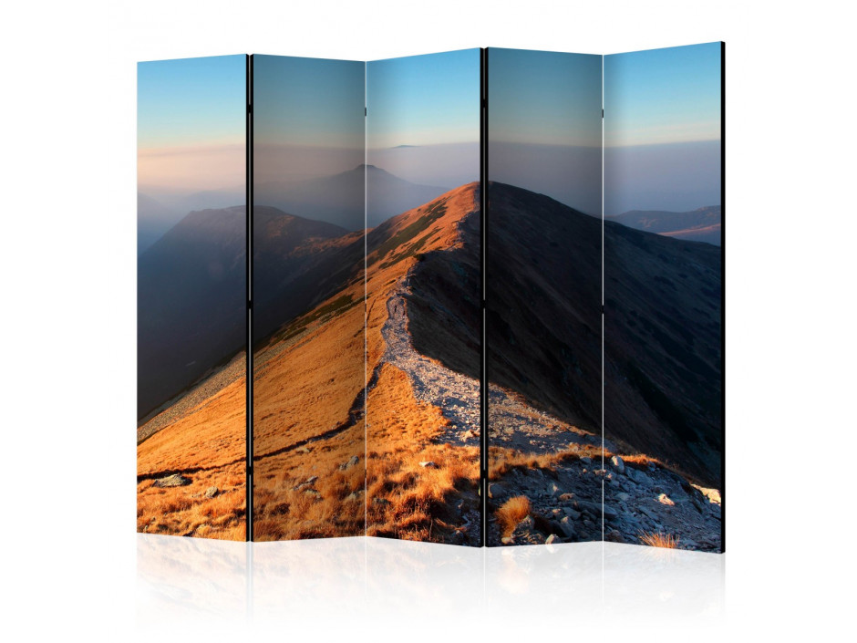 Paravent 5 volets  Mountain footpath, Tatras II [Room Dividers]