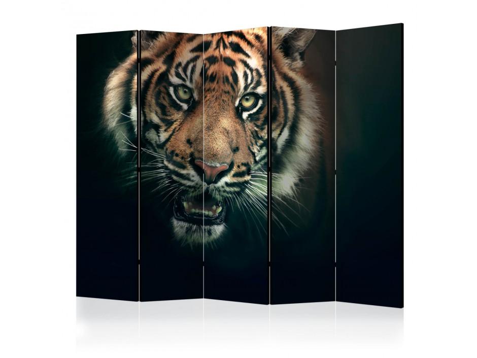 Paravent 5 volets  Bengal Tiger II [Room Dividers]