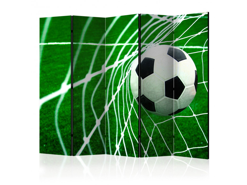 Paravent 5 volets  Goal! II [Room Dividers]