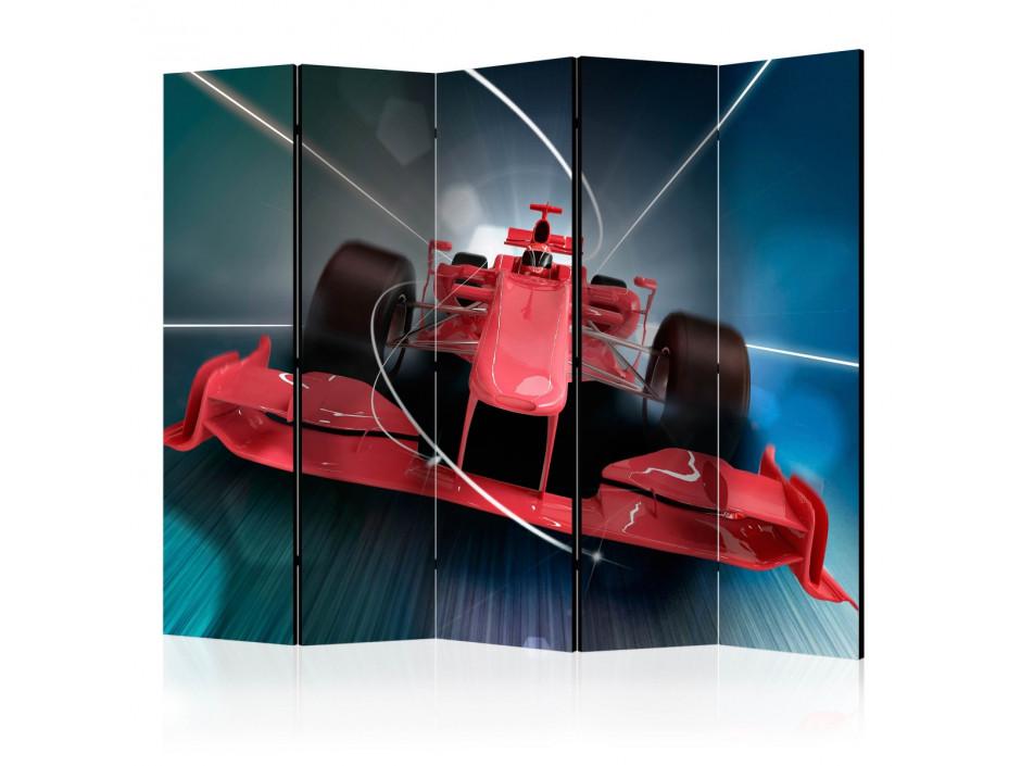 Paravent 5 volets  Formula 1 car II [Room Dividers]