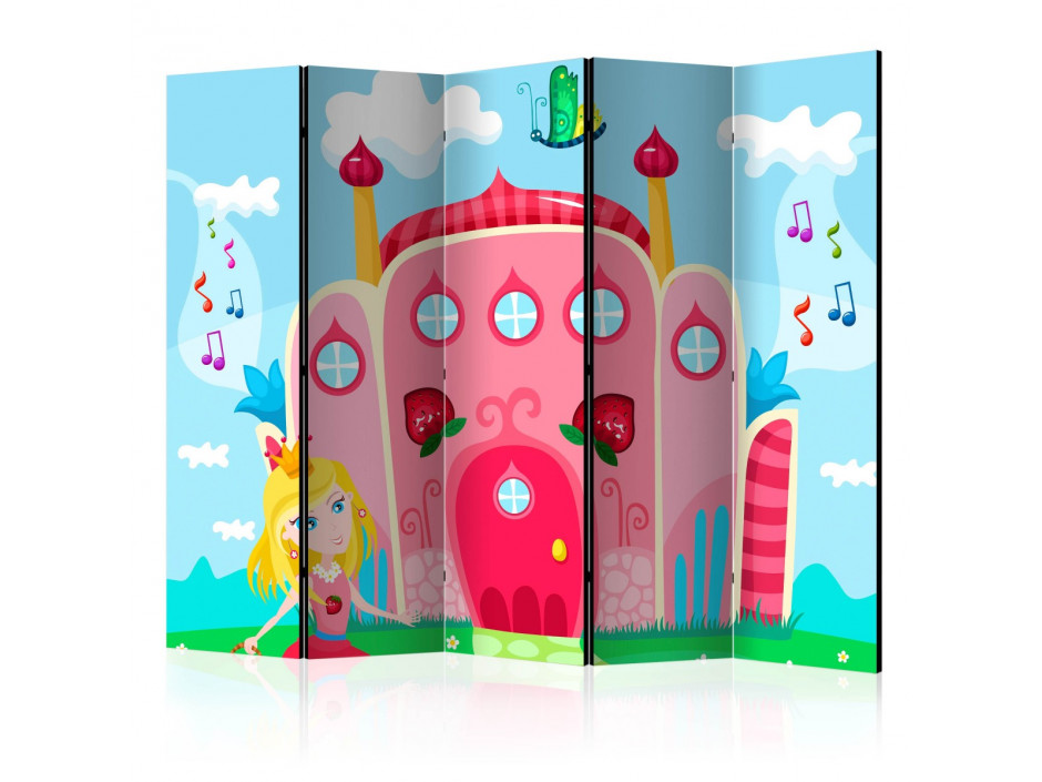 Paravent 5 volets  Castle II [Room Dividers]