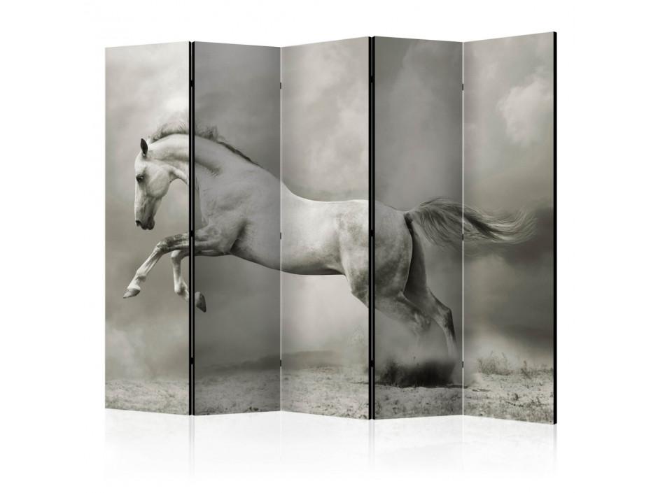 Paravent 5 volets  Wild Stallion II [Room Dividers]
