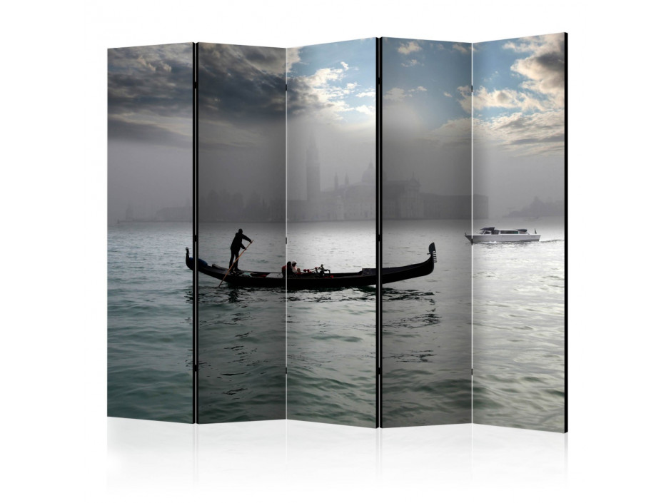 Paravent 5 volets  Gondola ride in Venice II [Room Dividers]