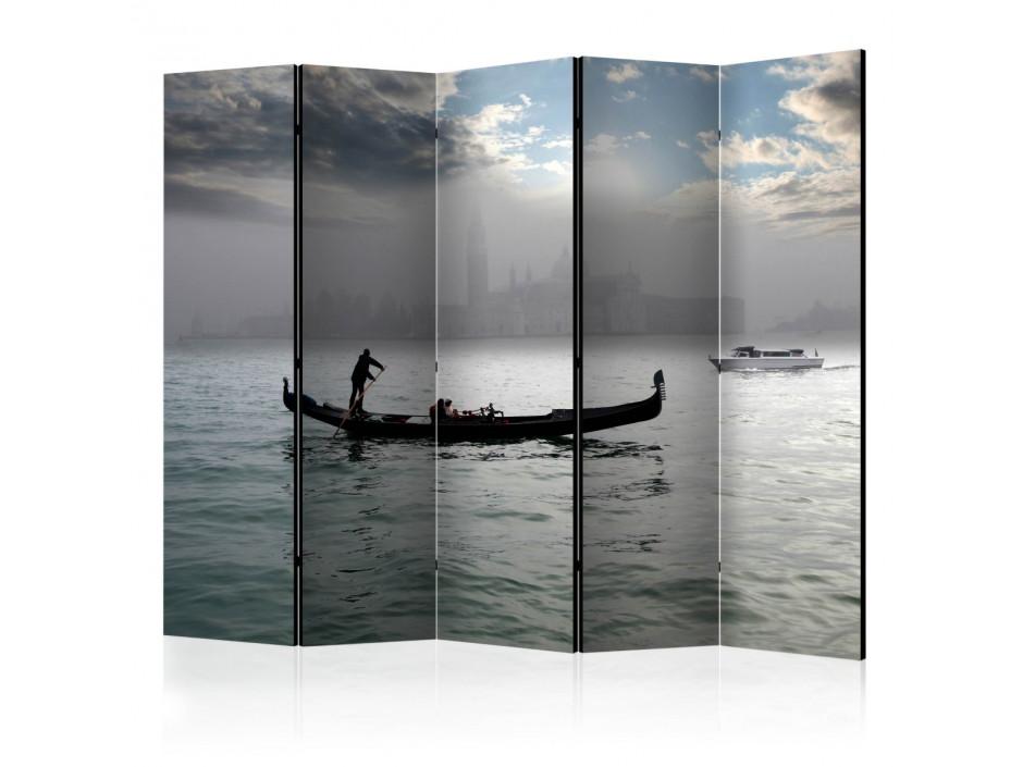 Paravent 5 volets  Gondola ride in Venice II [Room Dividers]