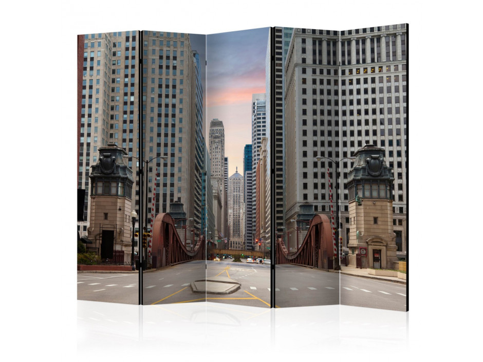 Paravent 5 volets  Chicago street II [Room Dividers]