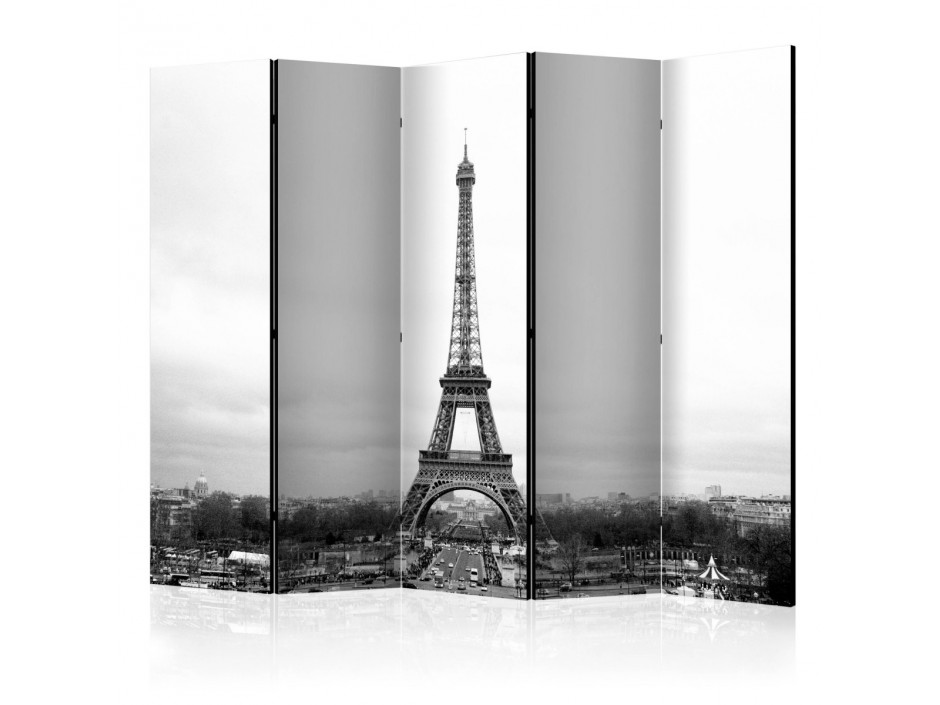 Paravent 5 volets  Paris black and white photography II [Room Dividers]