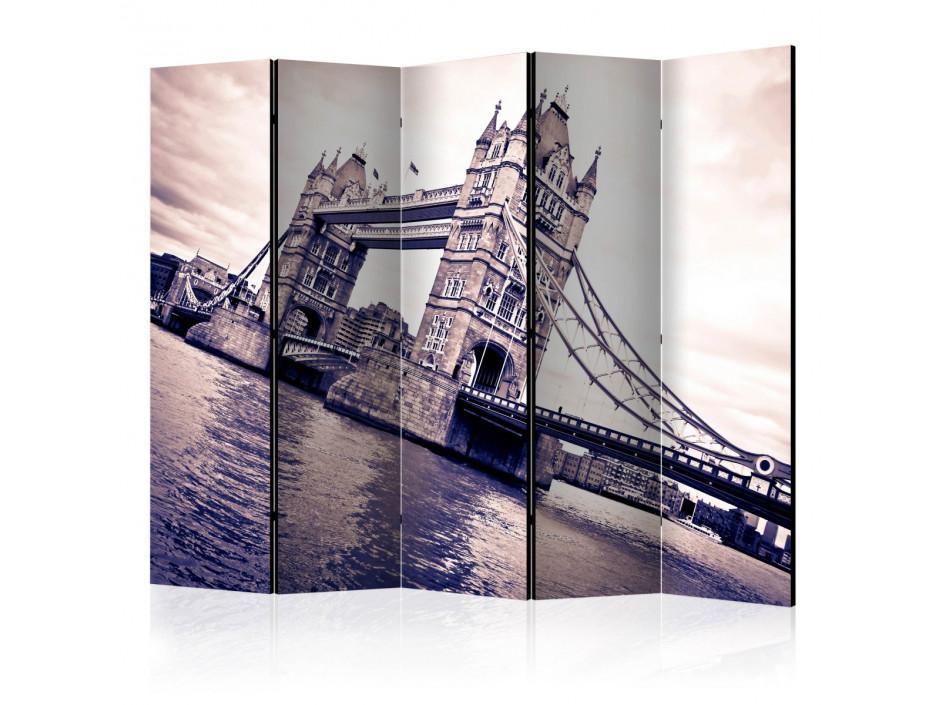 Paravent 5 volets  Tower Bridge II [Room Dividers]