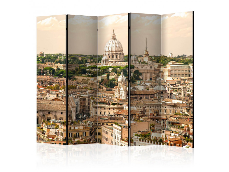Paravent 5 volets  Rome panorama II [Room Dividers]
