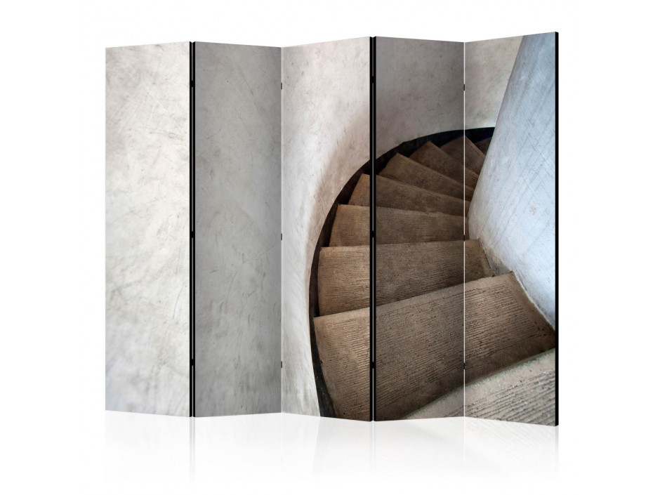 Paravent 5 volets  Spiral stairs II [Room Dividers]