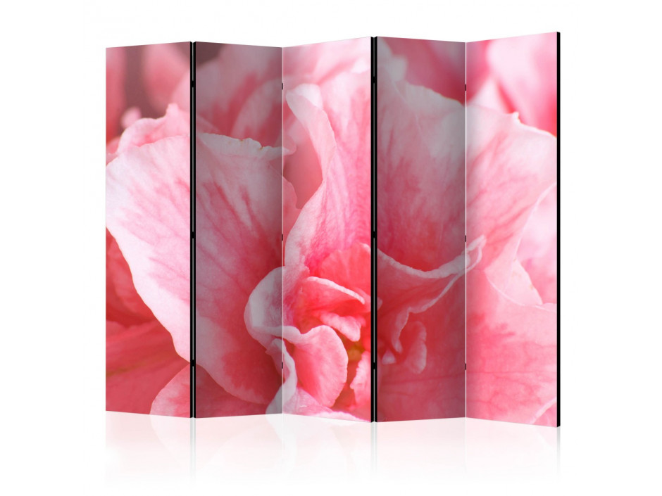 Paravent 5 volets  Pink azalea flowers II [Room Dividers]