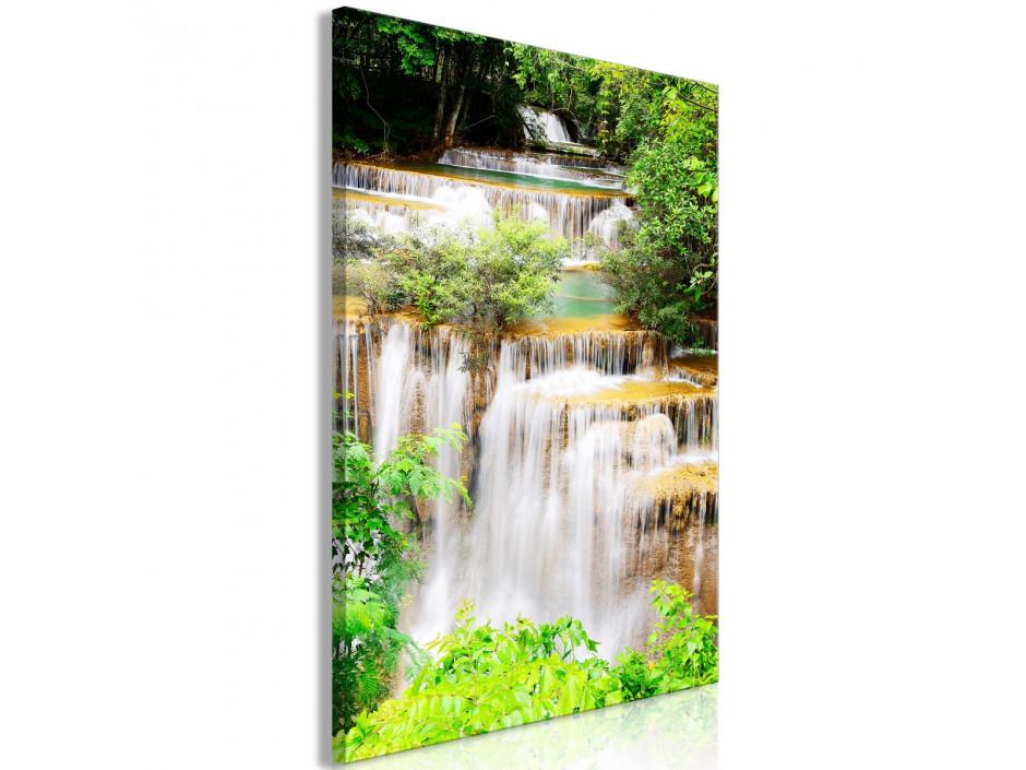 Tableau  Paradise Waterfall (1 Part) Vertical