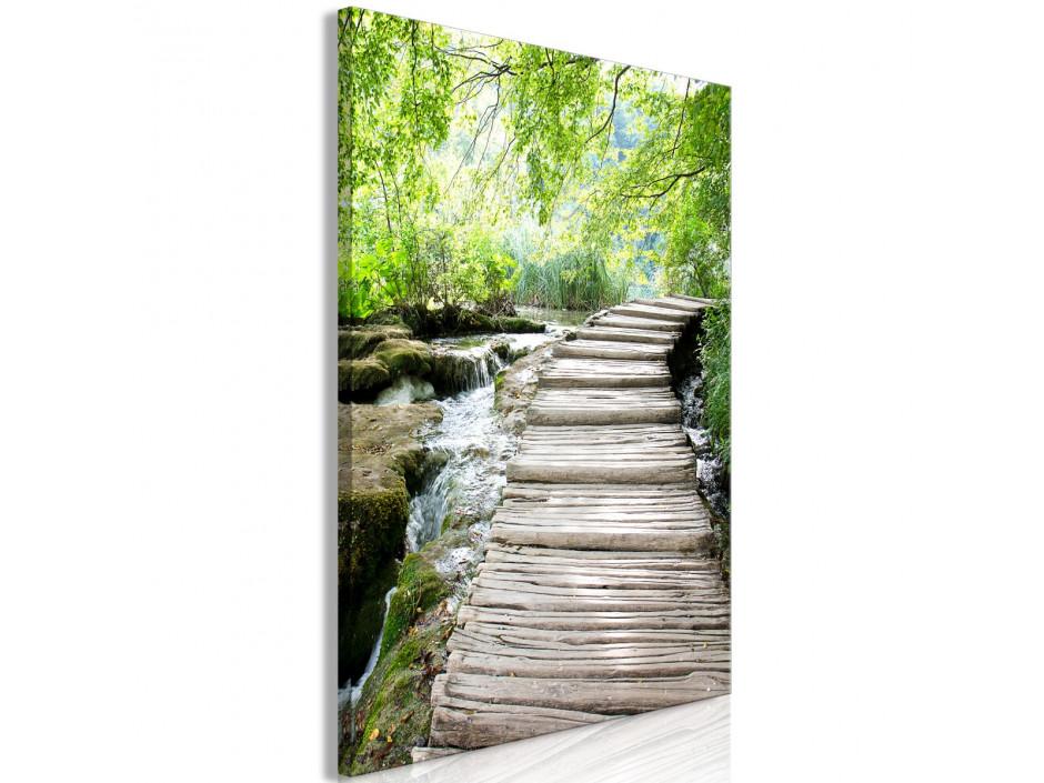 Tableau  Charming Path (1 Part) Vertical