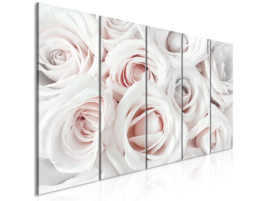 Tableau  Satin Rose (5 Parts) Narrow Pink