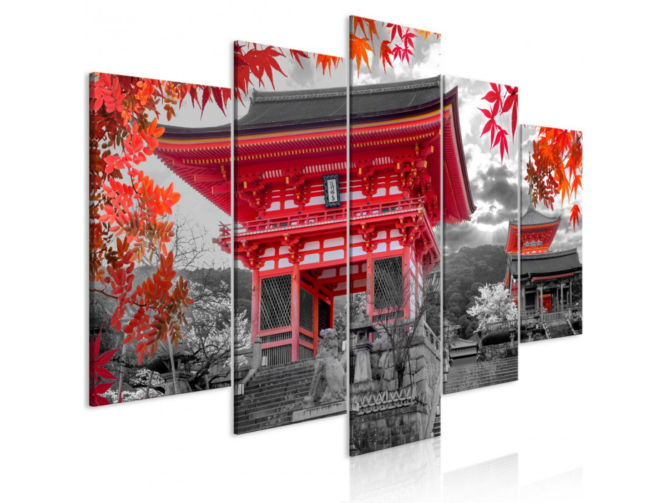 Tableau  Kyoto, Japan (5 Parts) Wide