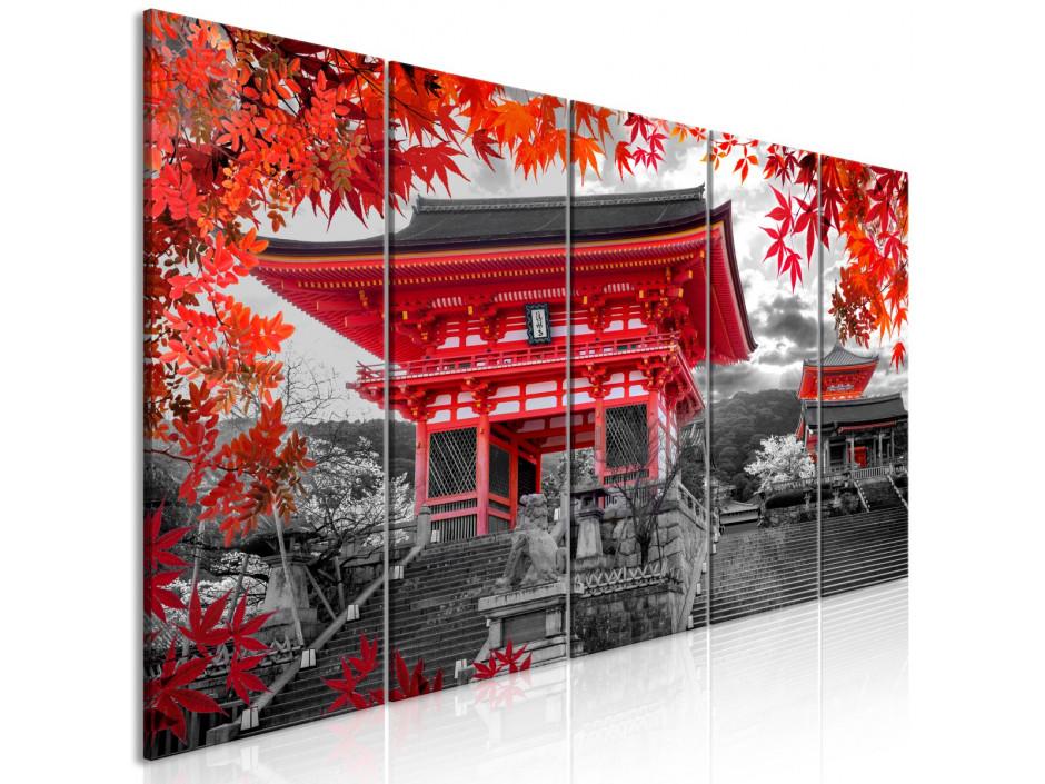 Tableau  Kyoto, Japan (5 Parts) Narrow