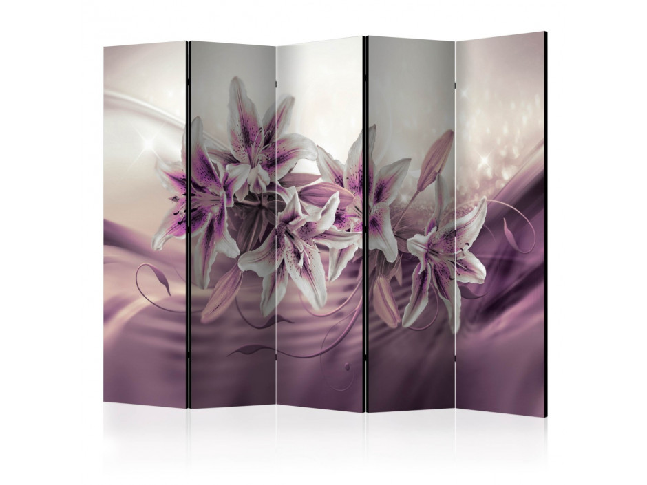 Paravent 5 volets  Purple Secrecy II [Room Dividers]