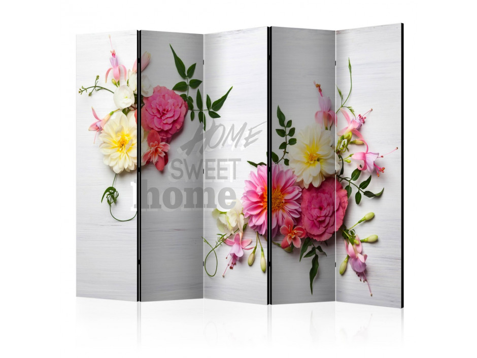 Paravent 5 volets  Spring House II [Room Dividers]
