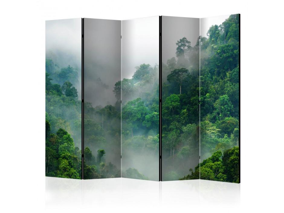 Paravent 5 volets  Morning Fog II [Room Dividers]