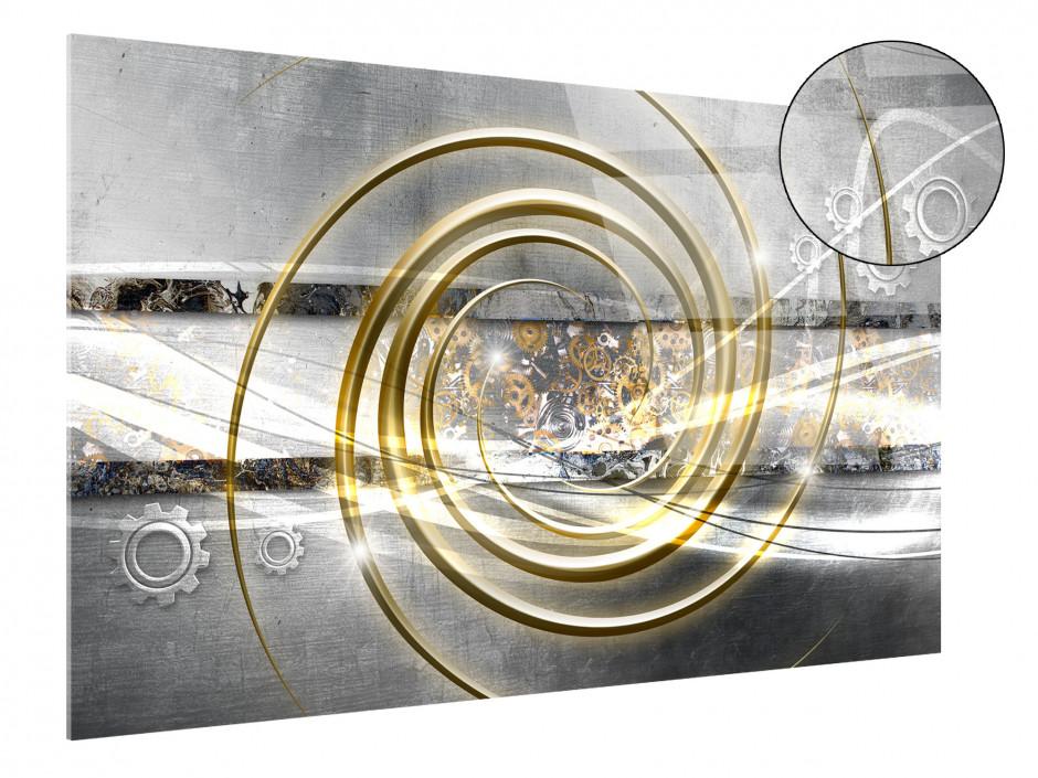 Tableau plexiglas abstrait décoration ROUAGES
