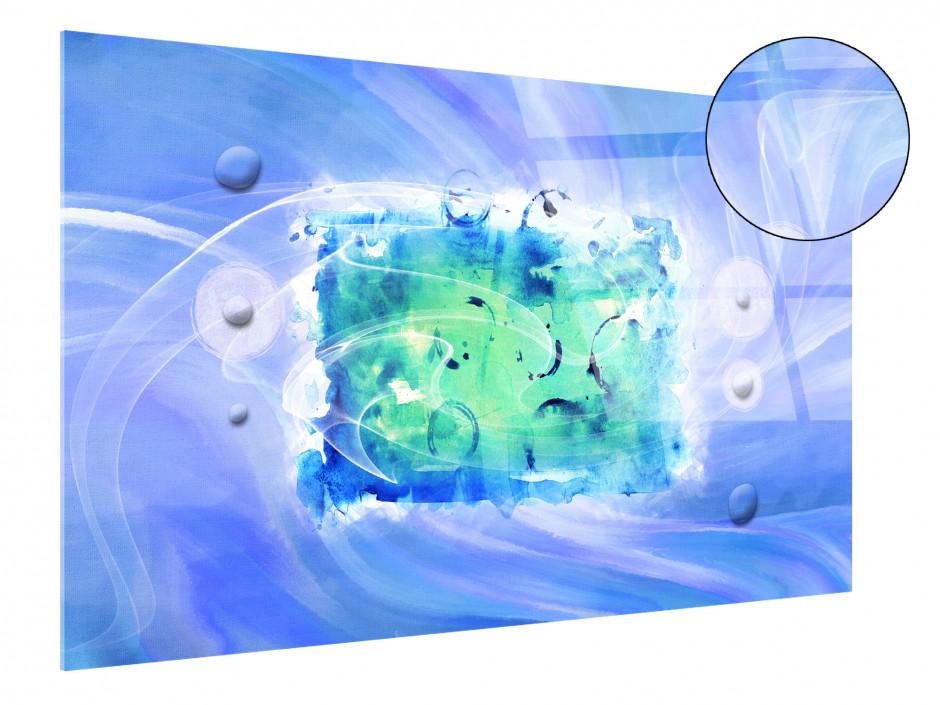 Tableau plexiglas décoration peinture abstraite FLY