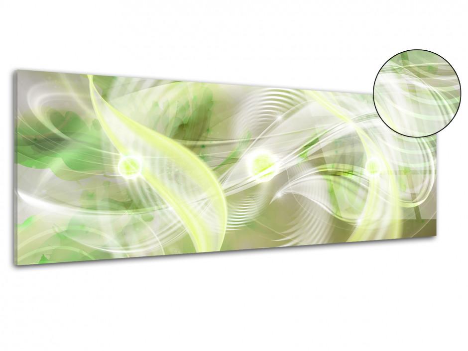 Tableau plexiglas panoramique abstraite HYPNOSE