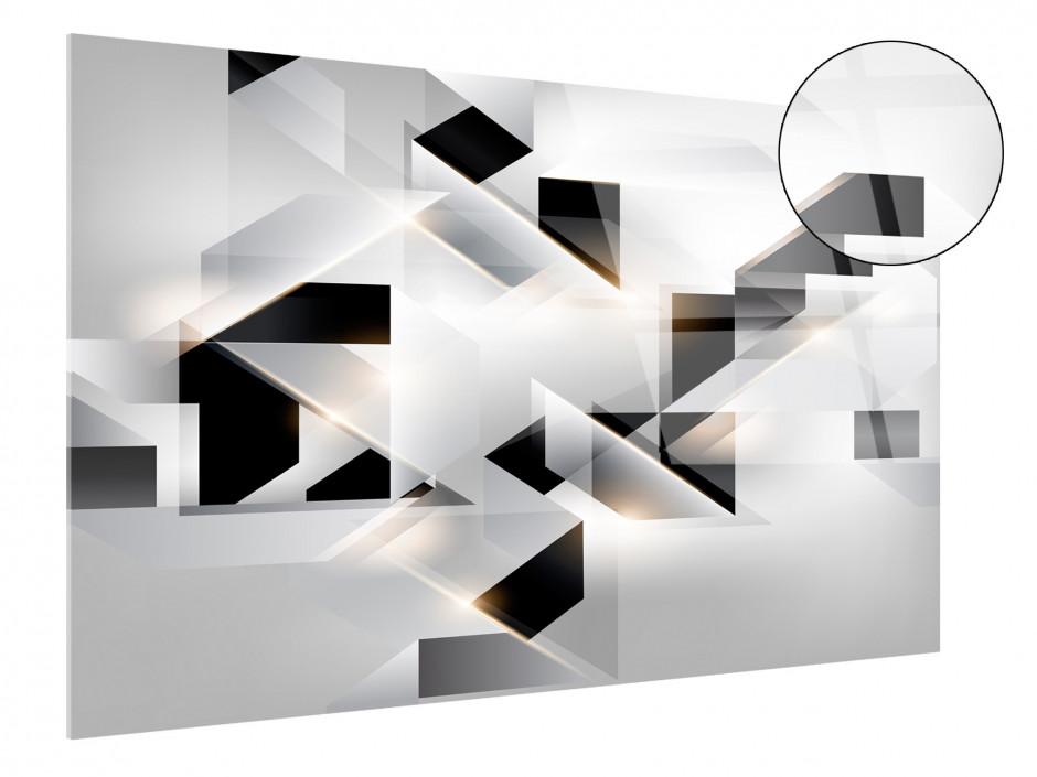 Tableau plexiglas abstrait ORIGAMI