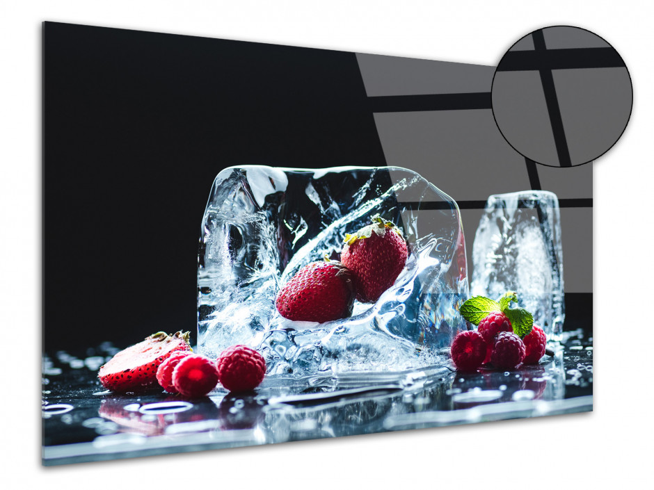Tableau Plexiglas design deco Les Fruits Rouges