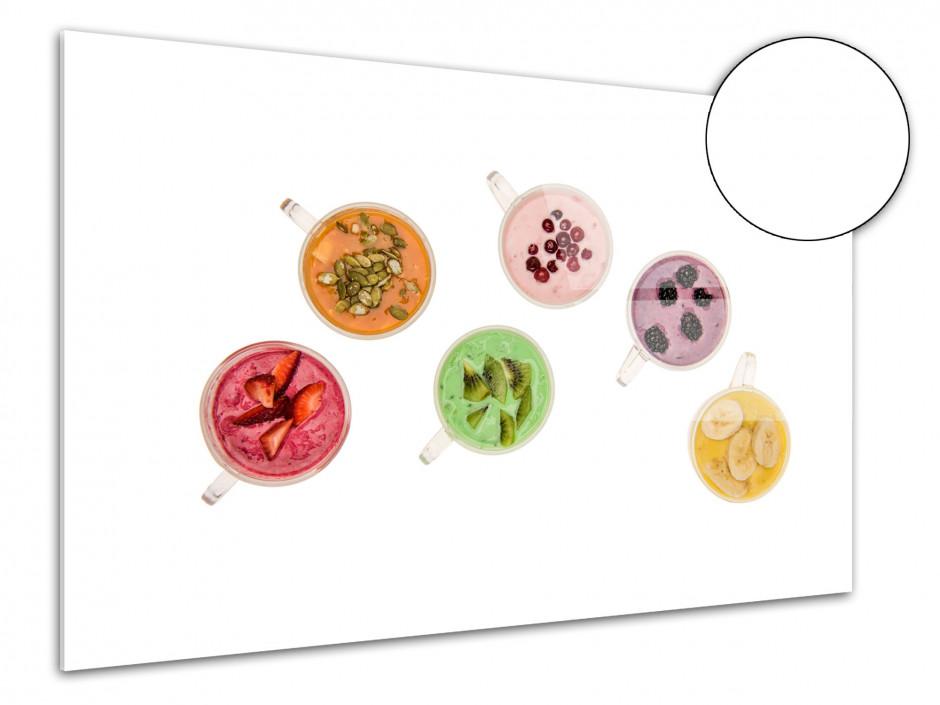 Tableau plexiglas deco murale tasse de smoothie