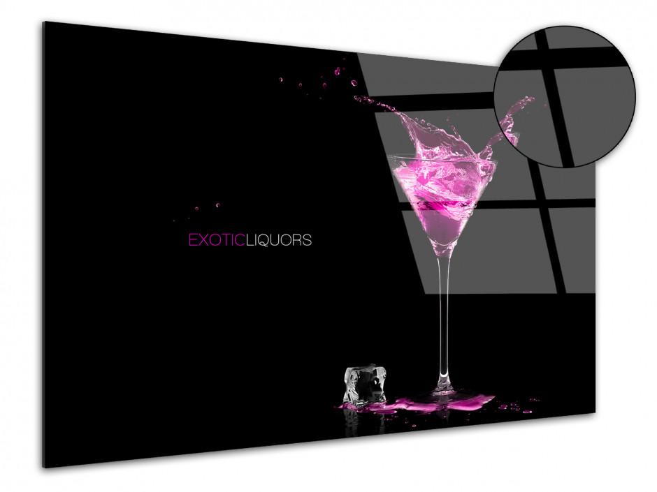 Tableau Plexiglas design moderne Liqueur Exotique