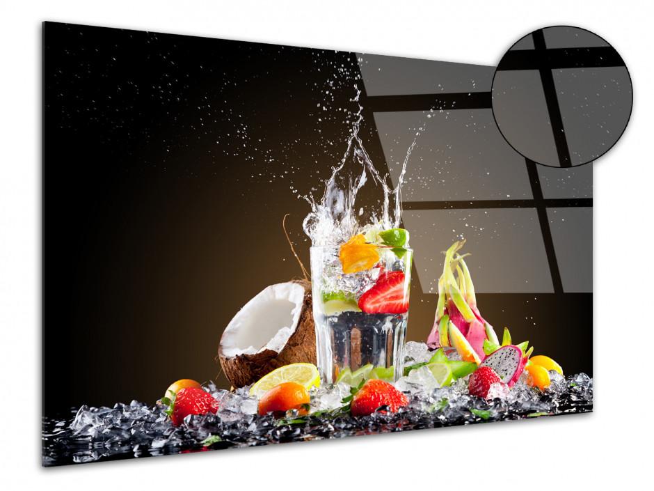 Tableau déco Plexiglas cuisine Cocktail de Fruits