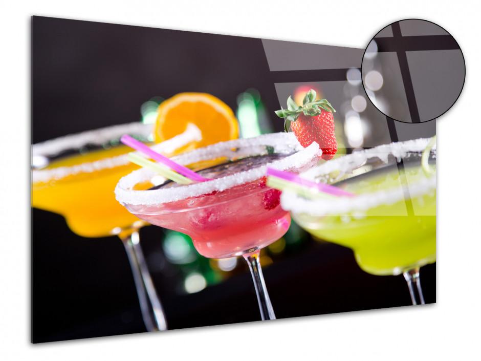 Tableau plexiglas déco cocktail coloré