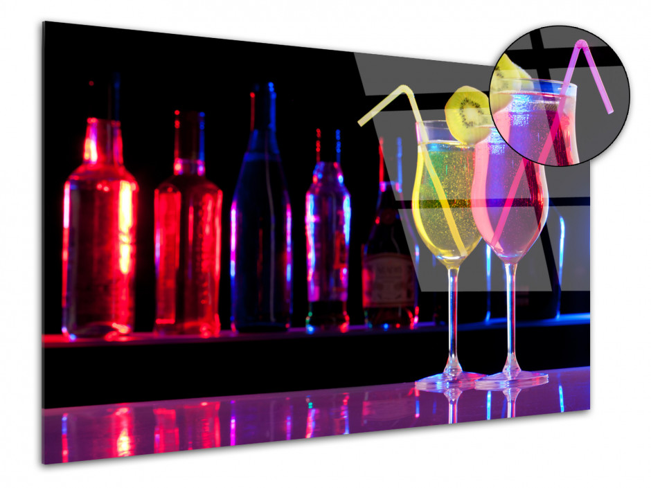 Tableau Plexiglas home deco Bar à Cocktail