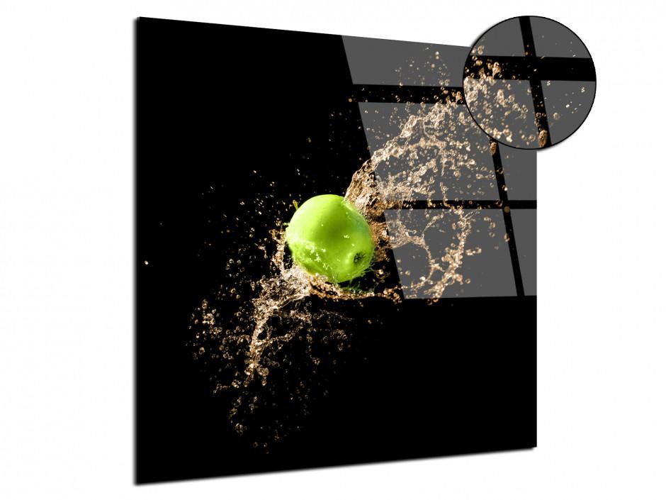 Tableau Plexiglas design Pomme Verte