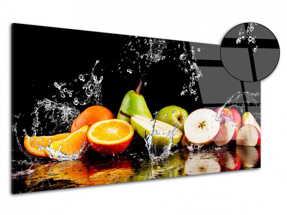Cadre Plexiglas déco panoramique Les Fruits
