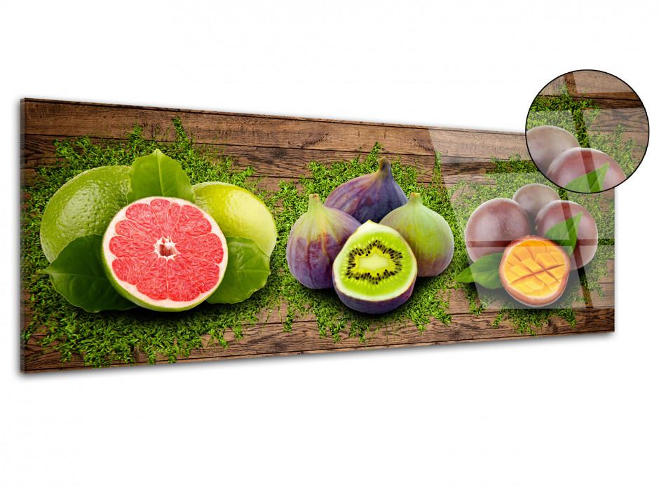 Tableau plexiglas pour cuisine FRUITS VITAMINÉS