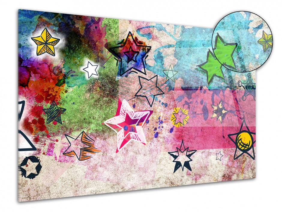 Tableau plexiglas déco moderne STARS