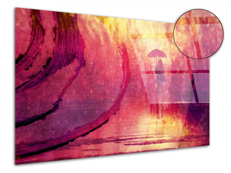 Tableau plexiglas moderne couleur PARAPLUIE