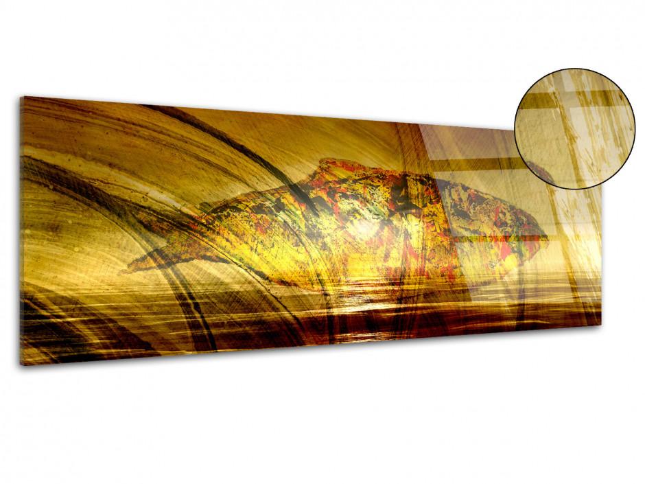 Tableau plexiglas panoramique POISSON MODERNE
