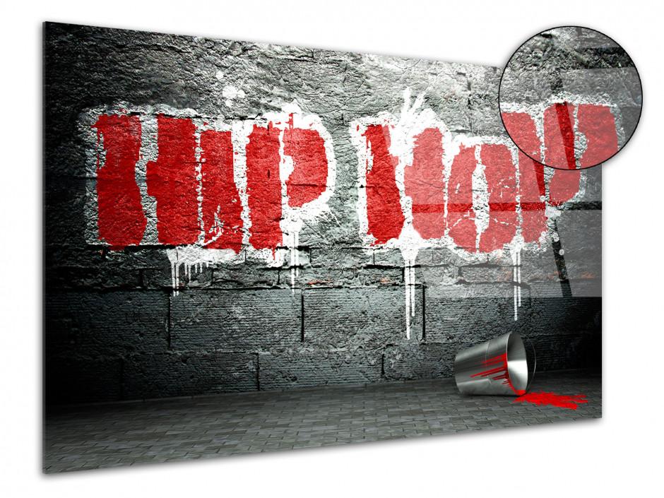 Tableau Plexiglas deco moderne Hip Hop