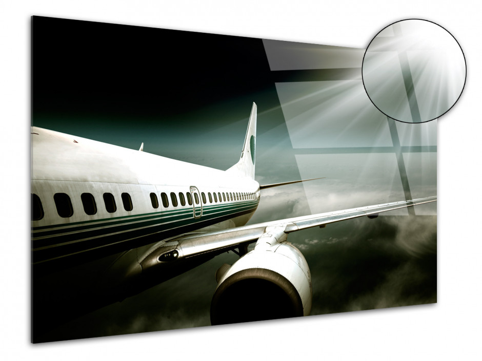 Tableau plexiglas deco Avion