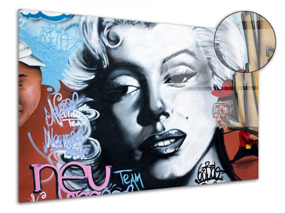 Tableau Plexiglas moderne design Graffiti de Rue
