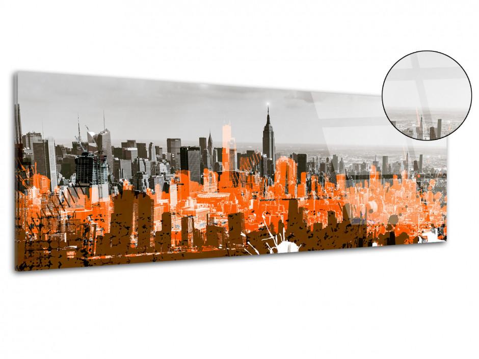 Tableau plexiglas déco NEW YORK ET DESSIN