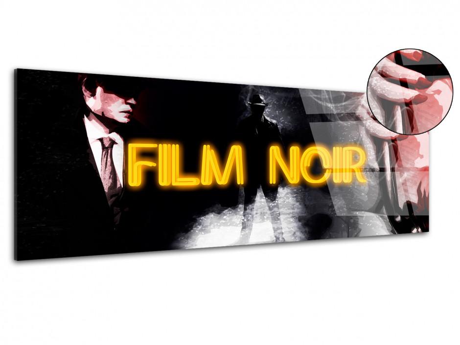 Tableau plexiglas déco panoramique  FILM CRIME
