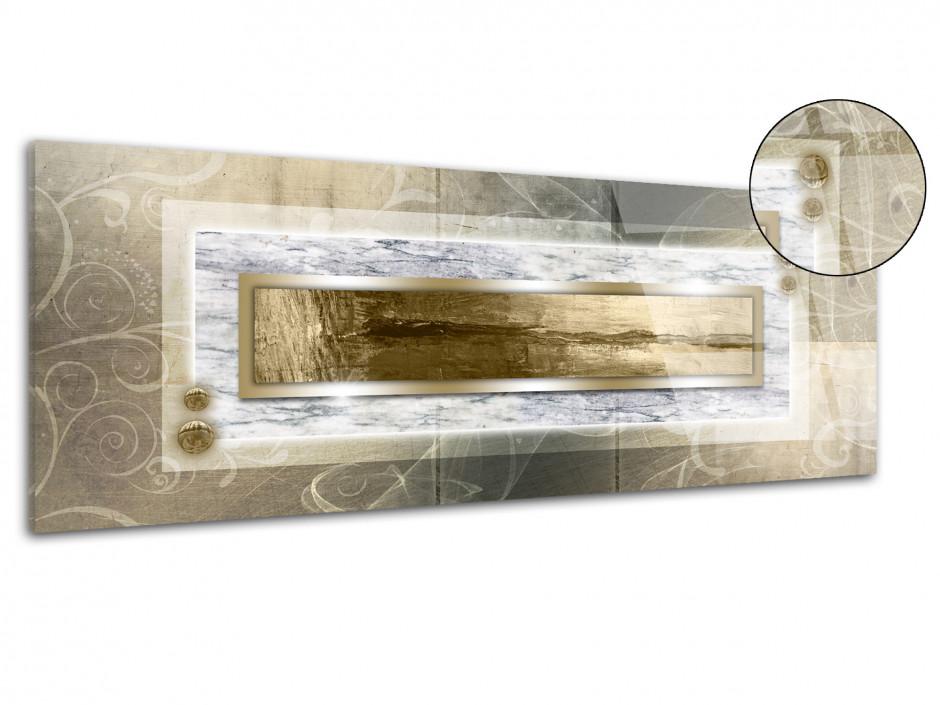 Tableau plexiglas decoration abstraite panoramique