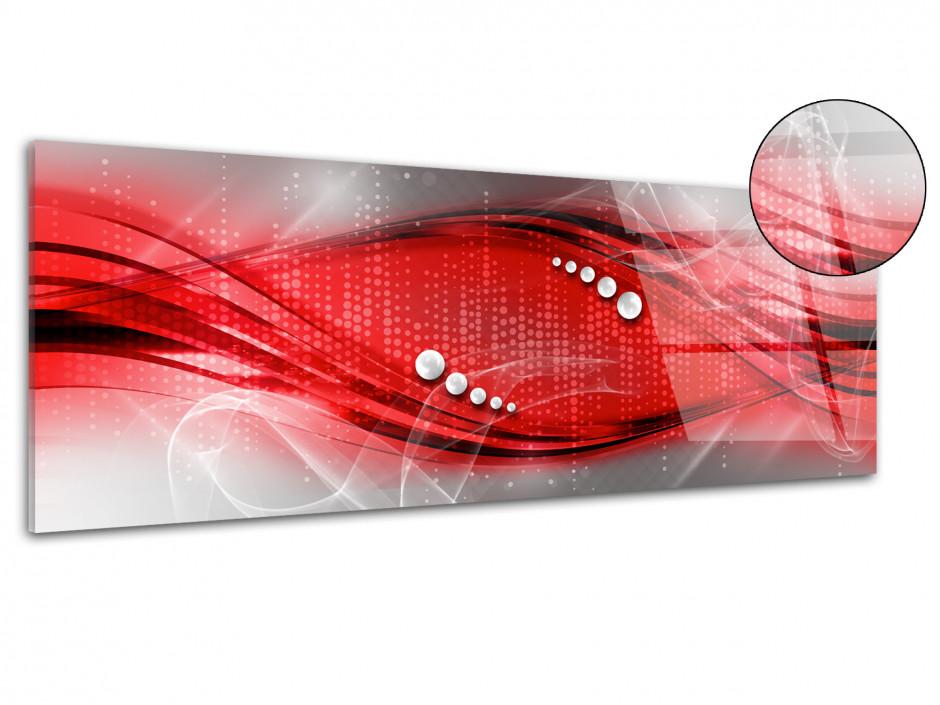 Tableau plexiglas decoratif abstrait panoramique
