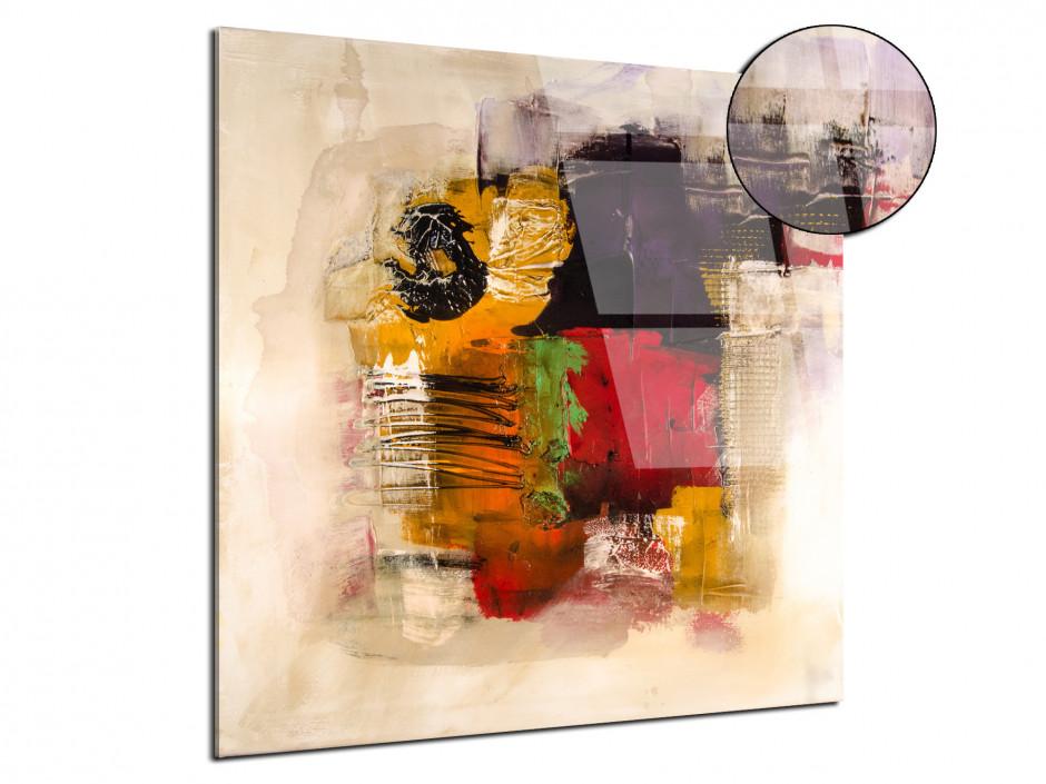 Tableau plexiglas peinture Abstrait