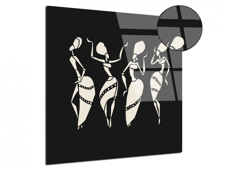 Tableau plexiglas vision moderne noir et blanc