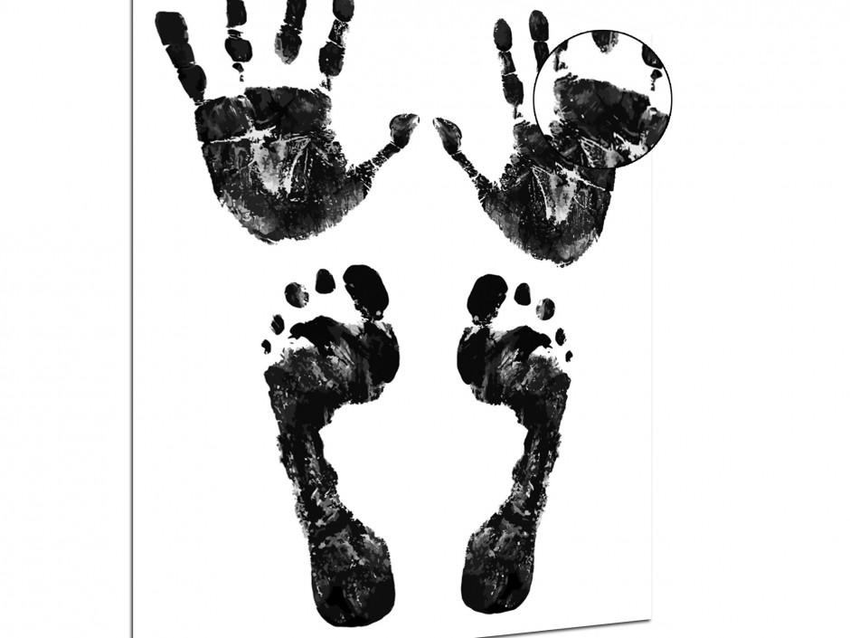 Tableau plexiglas noir et blanc l'origine de l'homme