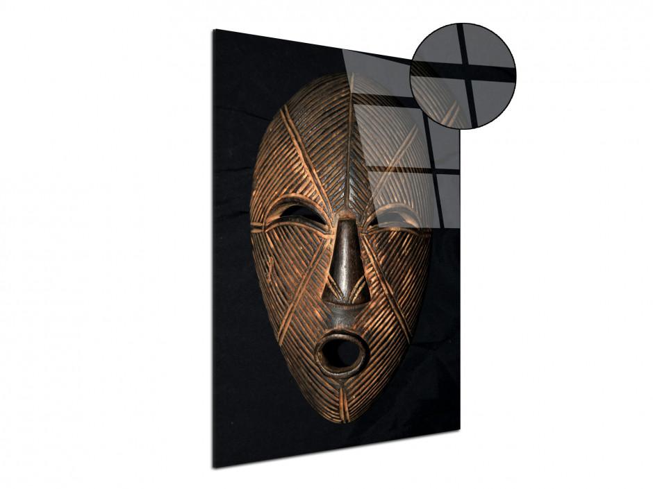 Tableau Photo plexiglas Masque Africain