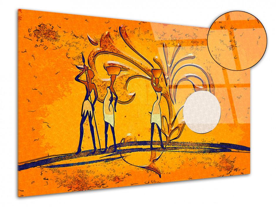 Tableau plexiglas L'Afrique Abstraite